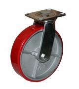 Колесо большегрузное полиуретановое поворотное SCp100 (диаметр 100 мм)