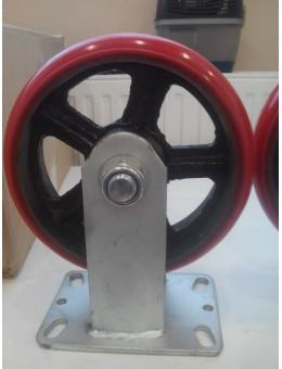 RXDP200 Колесо сверхбольшегрузное полиуретановое не поворотное диаметр 200 нагрузка 900 кг