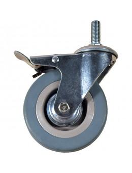 Колесо аппаратное болтовое крепление с тормозом SCTGB 75 (диаметр 75 мм)