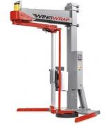 """Полуавтоматическая машина для упаковки паллет в стрейч-пленку (паллетообмотчик) с вращающейся """"рукой"""" Wingwrap"""