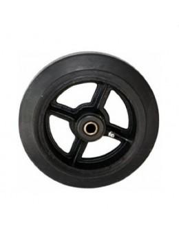 Колесо большегрузное обрезиненное без кронштейна D200 (диаметр 200 мм)