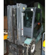 Дизельный погрузчик б.у. Jungheinrich DFG 430 (3 тонны / 3100мм. / 2012 г.)
