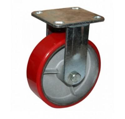 Колесо большегрузное полиуретановое не поворотное FCp160 (диаметр 150 мм)