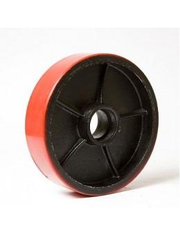 Колесо рулевое п.у. для тележек рокл 200х50 мм