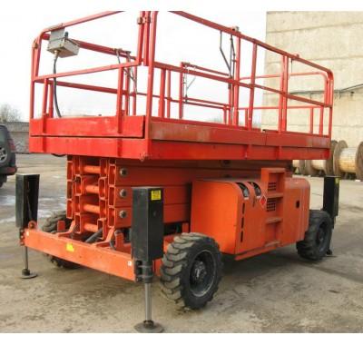 Подъемник самоходный дизельный б.у. Haulotte H15SDX