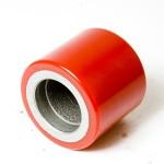 Ролик полиуретановый для тележек роклы 80х70мм