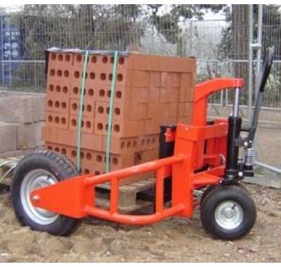 Вездеходная ручная гидравлическая тележка RX-RT 1500