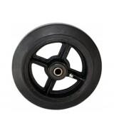Колесо большегрузное обрезиненное без кронштейна D100 (диаметр 100 мм)