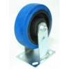 Колесо большегрузное обрезиненное не поворотное C550R\EUP4200B (диаметр 100 мм)