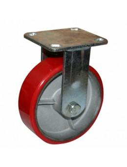 Колесо большегрузное полиуретановое не поворотное FCp100 (диаметр 100 мм)
