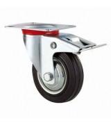 Колесо промышленное поворотное с торм. SCb75 (диам. 75 мм)