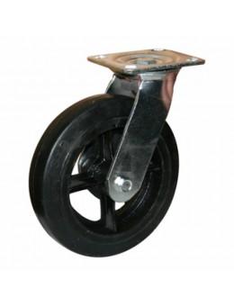 Колесо большегрузное обрезиненное поворотное SCd125 (диаметр 125 мм)
