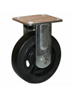 Колесо большегрузное обрезиненное не поворотное FCd160 (диаметр 150 мм)