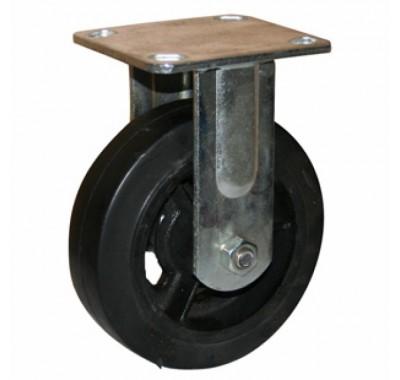 Колесо большегрузное обрезиненное не поворотное FCd250 (диаметр 250 мм)
