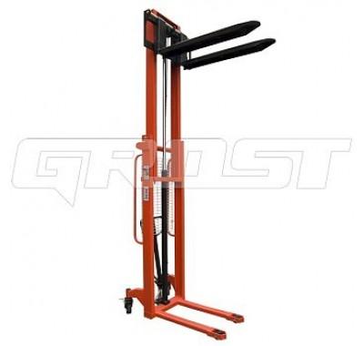 Штабелер гидравлический  GrOST НDR 10/30 (раздвижные вилы)