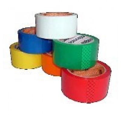 Скотч Клейкая лента упаковочная 48 мм х 132 м UNIBOB 500 (прозрачная / темная)