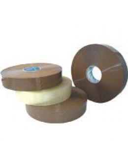 Скотч Клейкая лента упаковочная 48 мм х 990 м UNIBOB 700 (прозрачная / темная)