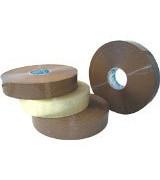 Скотч Клейкая лента упаковочная 48 мм х 990 м UNIBOB 500 (прозрачная / темная)