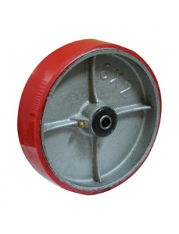 Колесо большегрузное полиуретановое без кронштейна P125 (диаметр 125 мм)