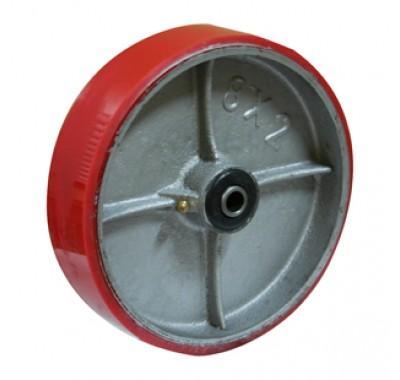 Колесо большегрузное полиуретановое без кронштейна P200 (диаметр 200 мм)