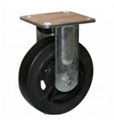 Колесо большегрузное обрезиненное не поворотное FCd125 (диаметр 125 мм)