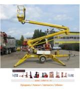 Коленчатый передвижной подъёмник б.у. 17 метров Niftylift 170 HPE
