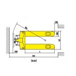 Тележка рохля BULLI L-25