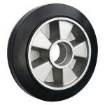 Колесо рулевое резина для тележек рокл 200х50 мм