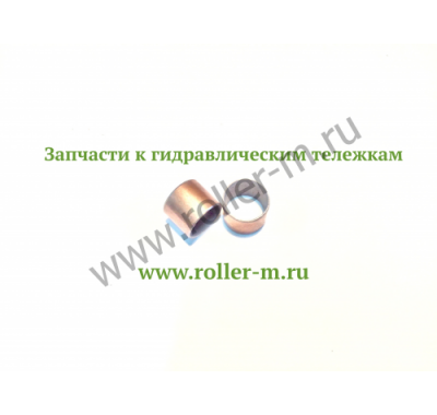Запасные части к ручным гидравлическим тележкам роклам (рохлям) - Втулка оси угловой рычаг/опорная пластина
