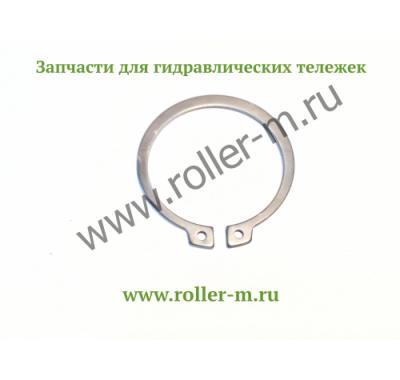 Запасные части к ручным гидравлическим тележкам роклам (рохлям) - Пружинная шайба (стопорное кольцо)