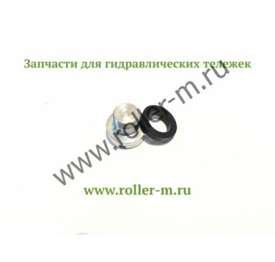 Запасные части к ручным гидравлическим тележкам роклам (рохлям) - Резьбовая пробка с уплотнительной шайбой